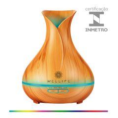 Difusor Umidificador Ultrassônico Modelo 4 (Flor Fechada) 400 ml