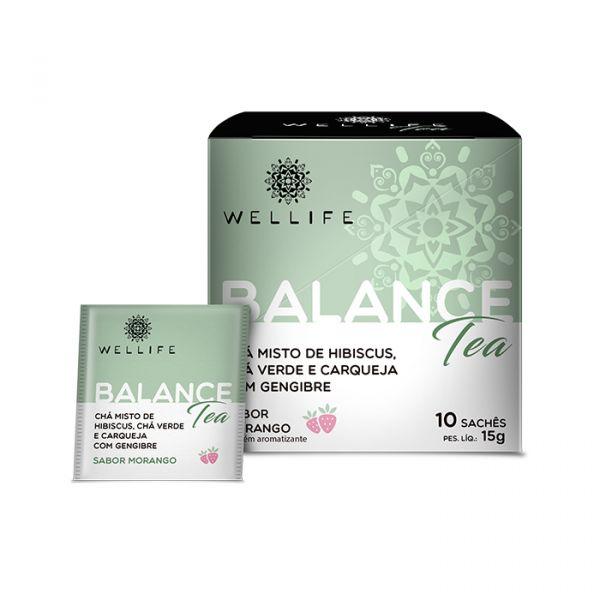 Kit Caixa de Acrílico + 4 Chás Wellife
