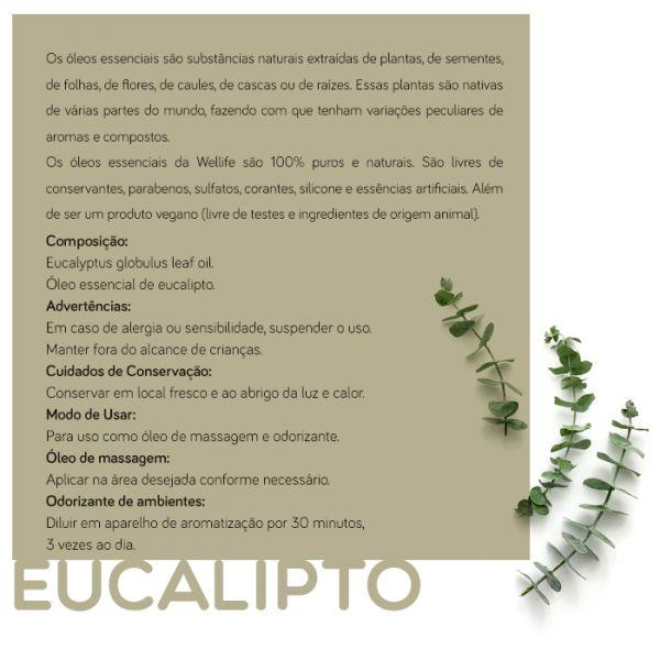 Wellife Oleo Essencial Eucalipto