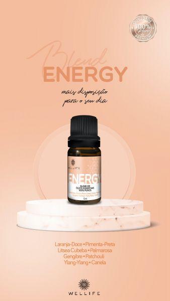 Wellife Oleo Essencial Blend Energy