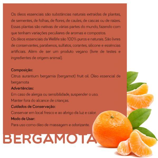 Wellife Oleo Essencial Bergamota