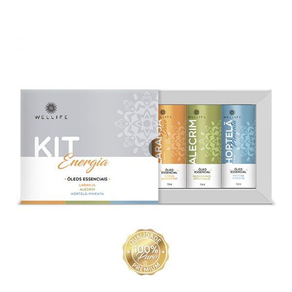 Kit Wellife Óleos Energia / Disposição