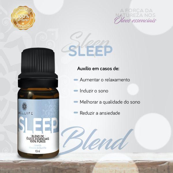 Wellife Oleo Essencial Blend Sleep 10ml
