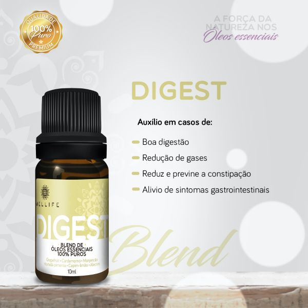 Wellife Oleo Essencial Blend Digest