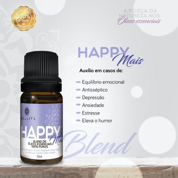 Wellife Oleo Essencial Blend Happy Mais