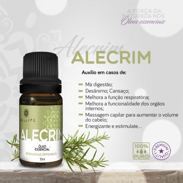 Wellife Oleo Essencial Alecrim