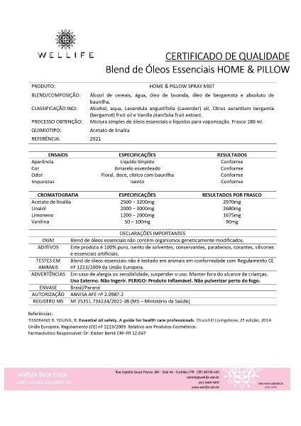 Home & Pillow Spray Relax 180ml