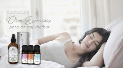 Óleos Essenciais para Dormir Melhor